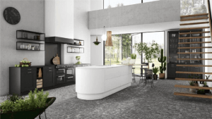 black units 2020 kitchen trend